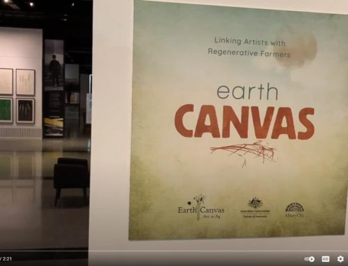 Earth Canvas art exhibition