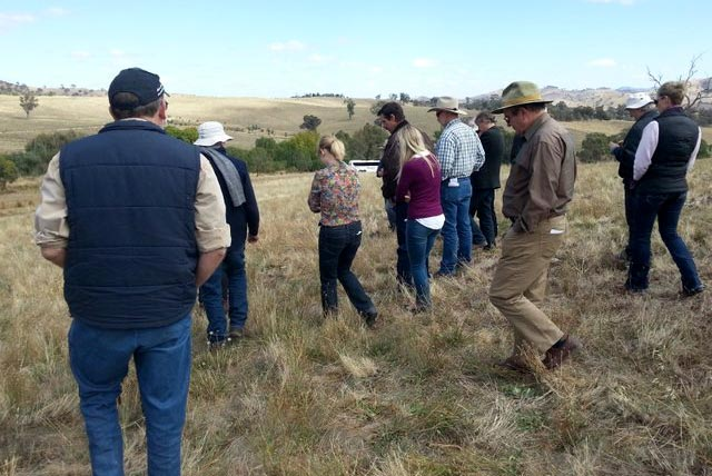 Sharing farming practices with researchers and fellow farm and land managers