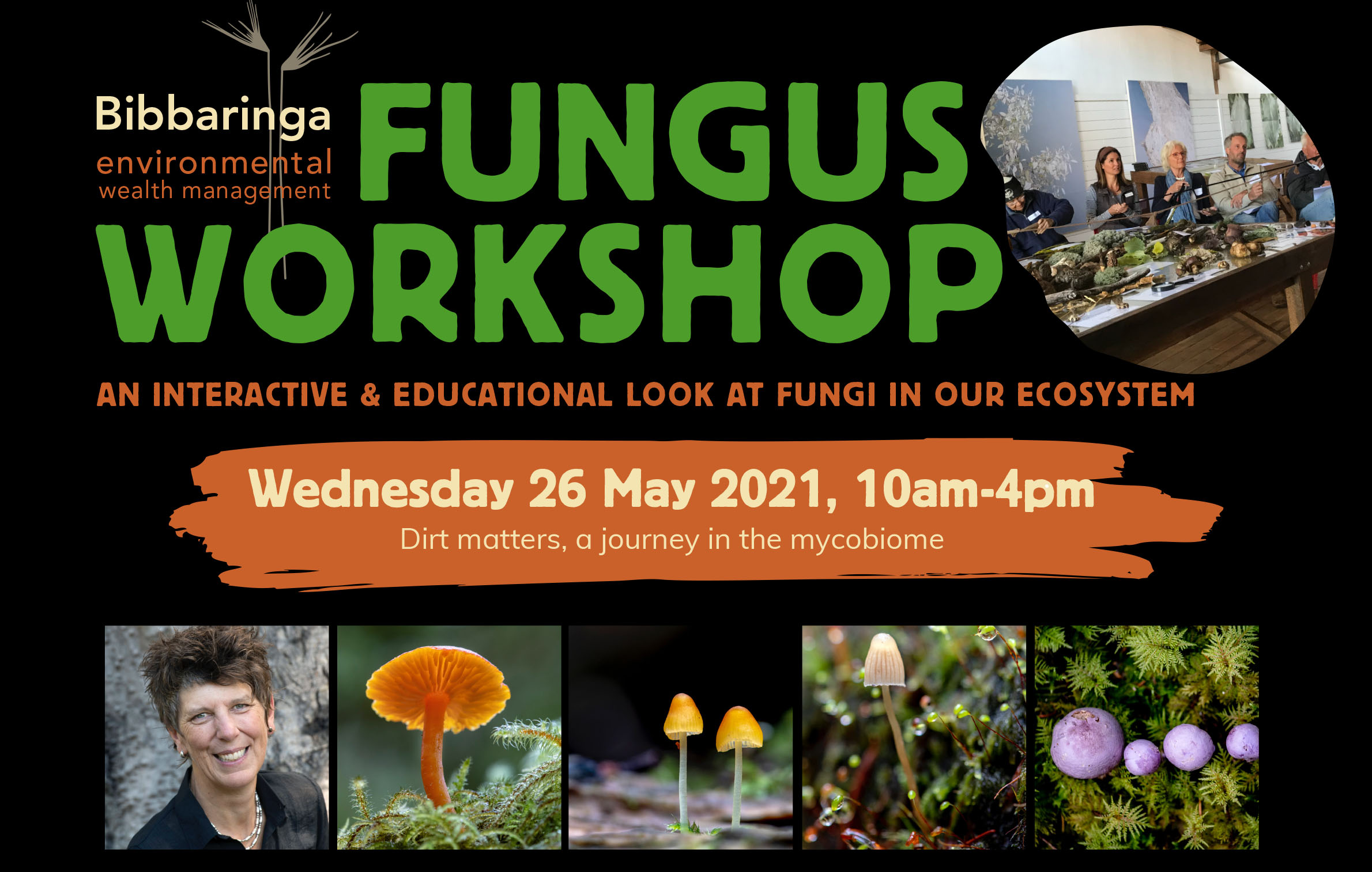 Fungus Workshop at Bibbaringa Farm