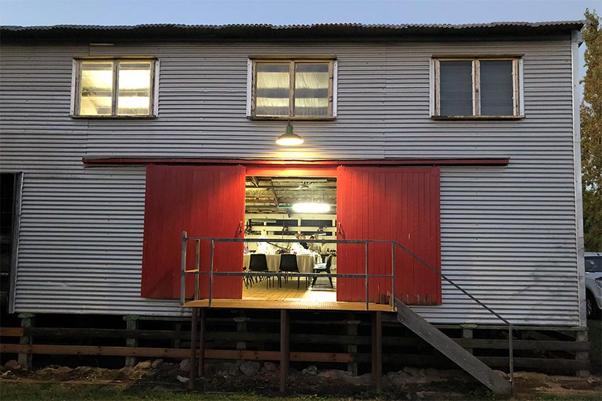 Venue hire conference art studio WoolShed Bibbaringa